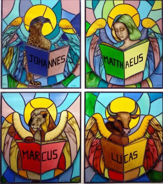 I quattro Evangelisti per una Parrocchia in Brasile.